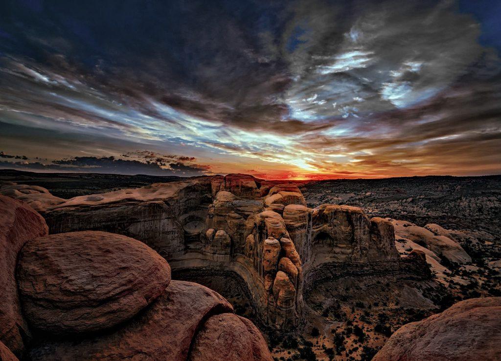 canyon sky image - ra lynn lonewalker storyteller