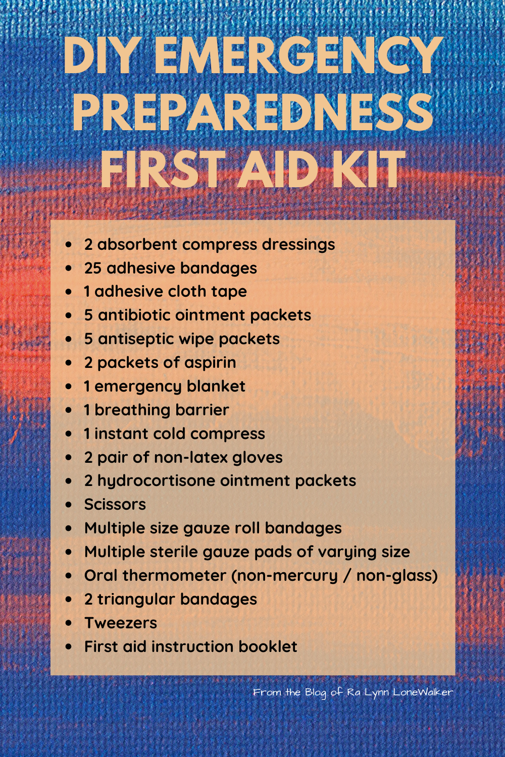 Disaster Preparedness: Practical Tips to be Prepared for Emergencies